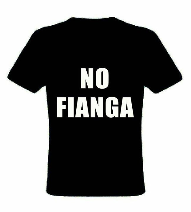 T-shirts NO FIANGA