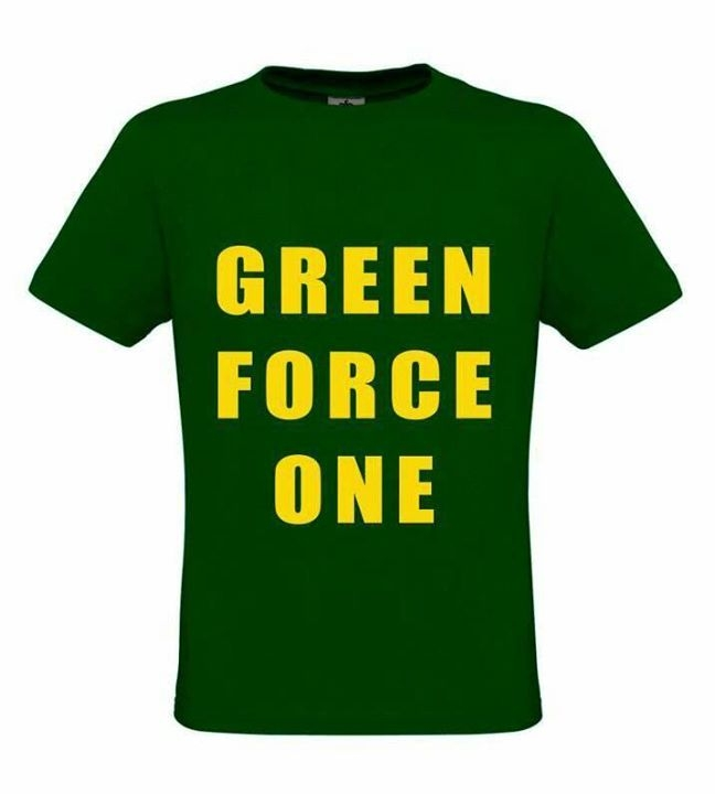 T-shirt GREEN FORCE ONE
